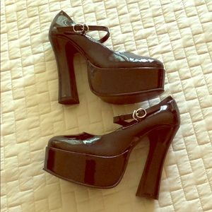 Costume Black Mary Janes